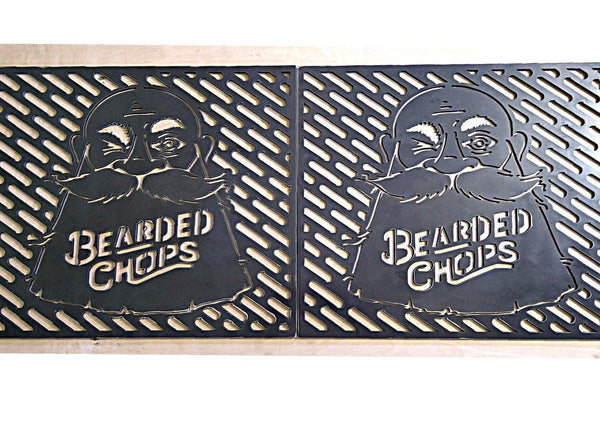 Bearded Chops Grill Grates - DDR Fabrication