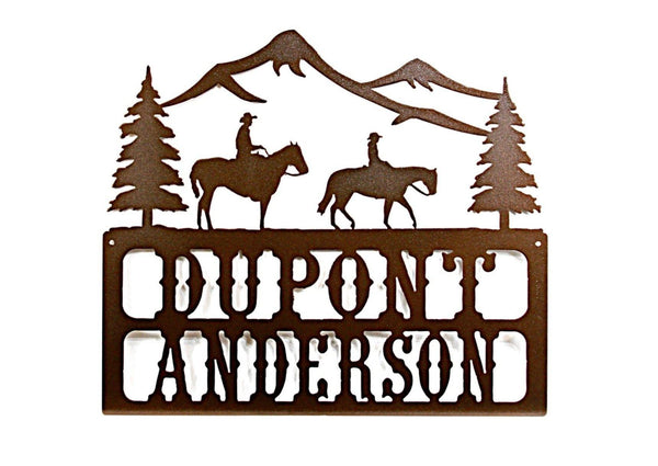 Dupont Anderson Family Sign - DDR Fabrication