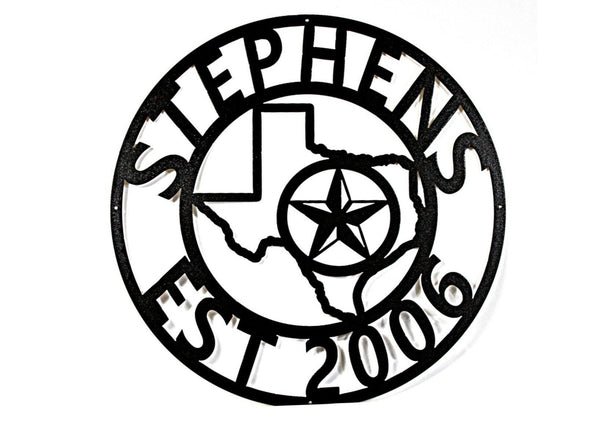 Stephens Family Sign