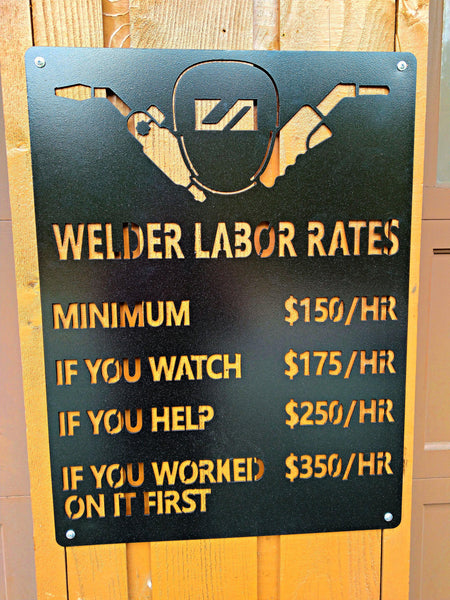 Welder Labor Rates
