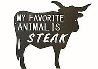 My Favorite Animal is Steak