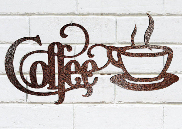 Coffee Sign II - DDR Fabrication