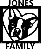 Custom Boston Terrier Sign