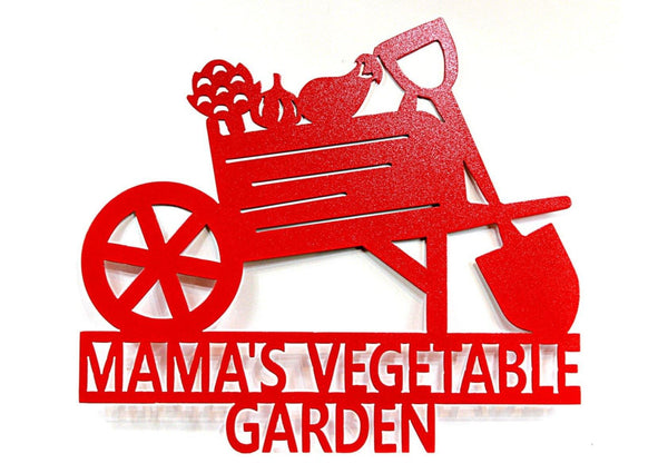 Custom Vegetable Garden Sign