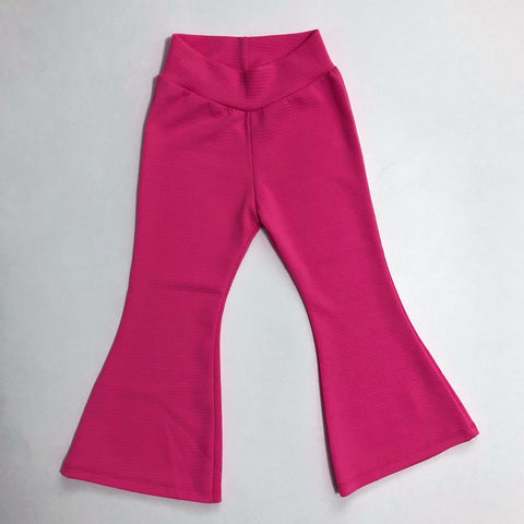 Boho Bell Bottoms in Hot Pink