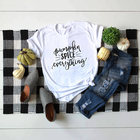 Pumpkin Spice Everything Tee