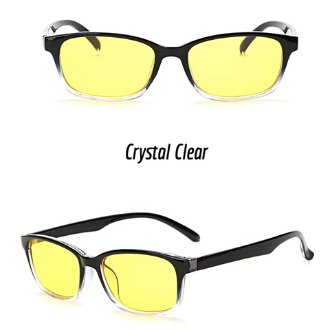 Image of Crux - Amber Gaming Glasses