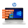 "Notebook HP AMD RYZEN 3 4GB 128GB SSD W10 14"" - Bestmart"