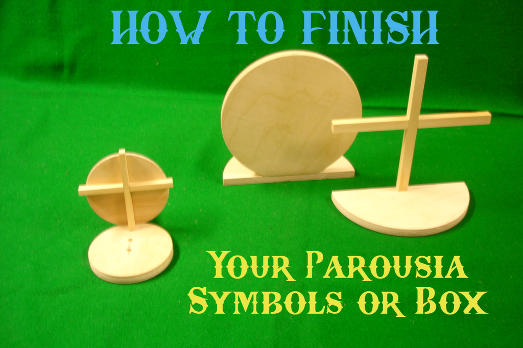 Finishing Your Parousia Symbol or Bible & Parousia Box