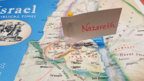 Israel in Biblical Times focused on Nazareth