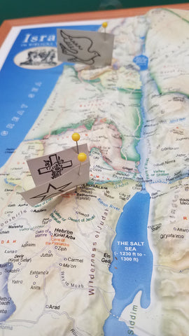 Israel in Biblical Times Pin Labels