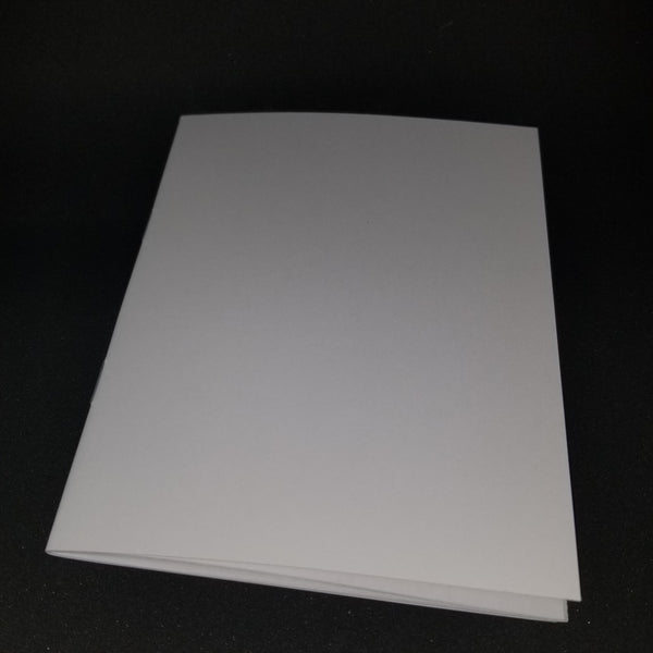 Blank White Booklets (Infancy Narratives)