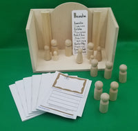 Infancy Narratives (Nativity) - Small 3D Figures