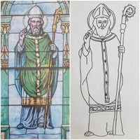 FREE Download: Saint Patrick Activity & Coloring Page