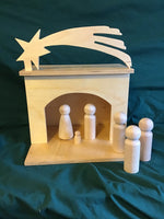 Infancy Narratives - Dioramas for Large 3D Figures