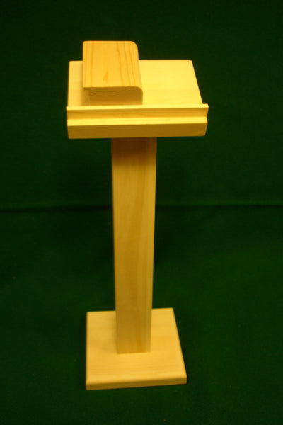 Lectern/Ambo and Book (Made to Order)