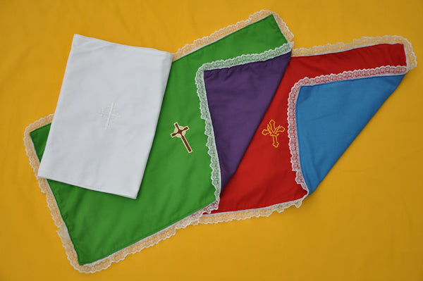 Embroidered Reversible Prayer Table Cloth