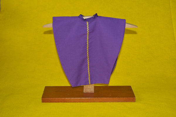 Single Mini-Chasuble in Liturgical Colors (Made to Order)