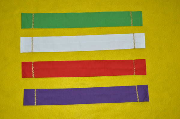 Mini-Stoles in Liturgical Colors