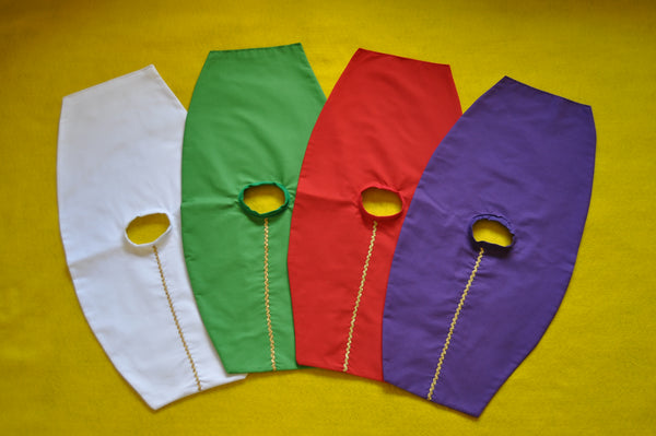 5 Mini-Chasubles in Liturgical Colors (Made to Order)
