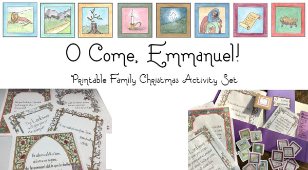 """O Come, Emmanuel"" - Creating a Peaceful Space for Christ to Enter"