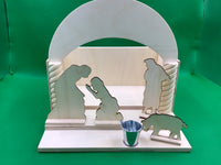 Forgiving Father House - Parable Diorama