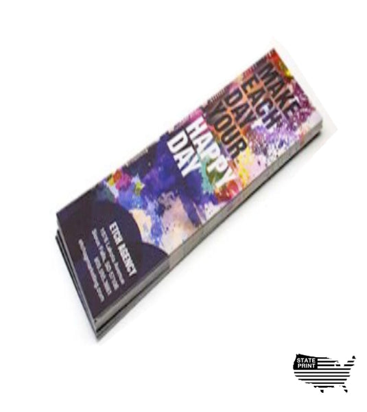 Multiple Sizes - Custom Full Color Bookmarks - 16 pt