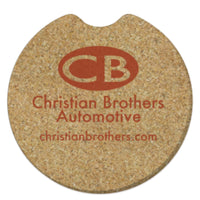 Car Coasters - Natural Cork
