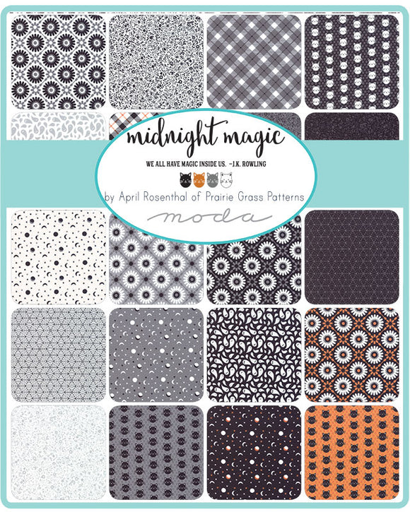 MIDNIGHT MAGIC - MODA - April Rosenthal - Price Per 1/4 Yard