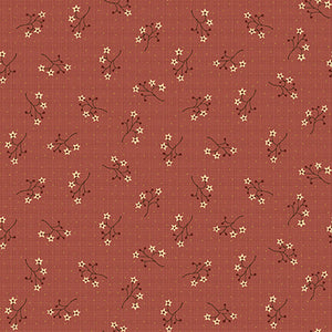 "Red Star Flower Sprigs  ""On the 12th Day"" by Anni Downs is the perfect collection for the holidays!"