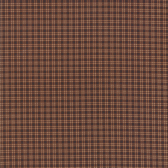 MODA - Lancaster - Jo Morton - Dark Brown Checks