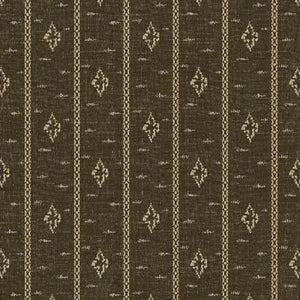 Windham - Farmhouse Living - Jeanne Horton 50016-4 Brown Stripe