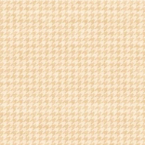 Henry Glass - Houndstooth Basics - Leanne Anderson - 8624-44 - Tan