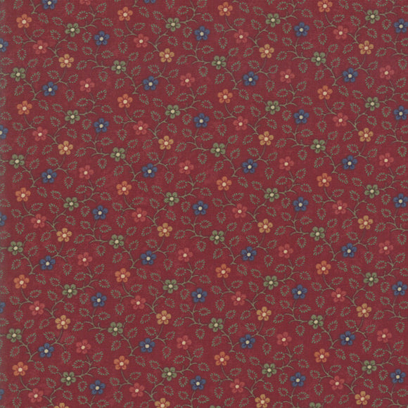 Milestones - Kansas Troubles Quilters - Red