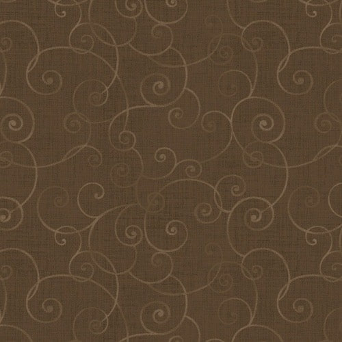 Henry Glass - Whimsy Basics - Color Principle - 8945-38 - Brown