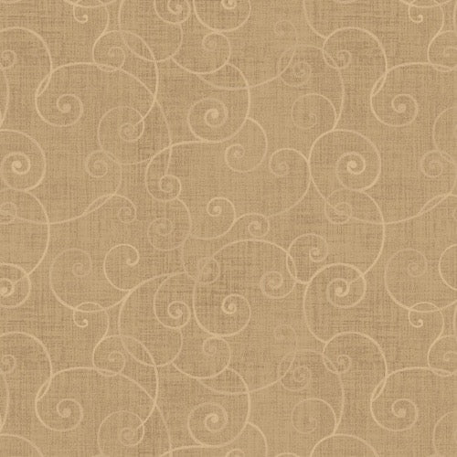 Henry Glass - Whimsy Basics - Color Principle - 8945-32 - Tan