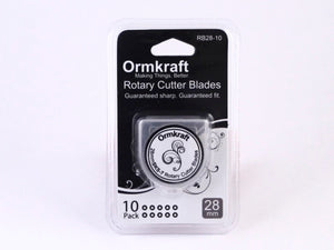 Ormkraft Rotary Cutter Blades - 28mm - 10 Pack