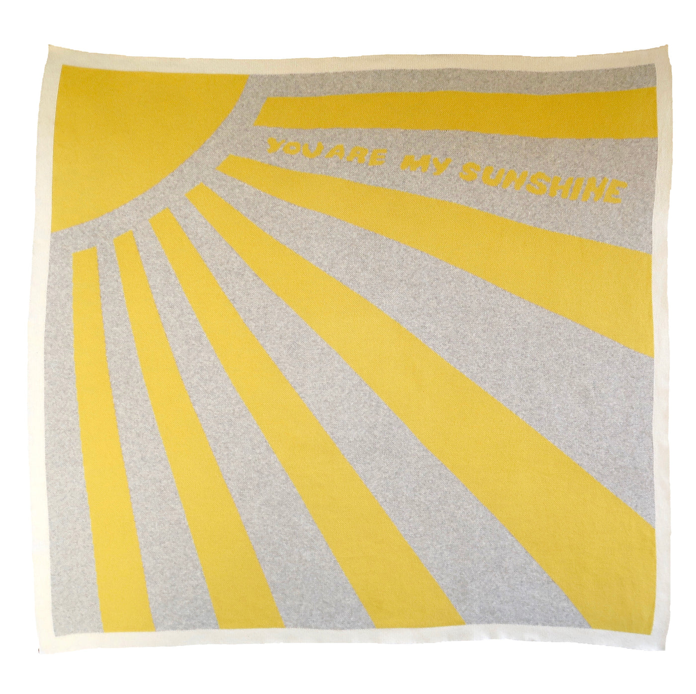 Organic cot blanket - You are my sunshine
