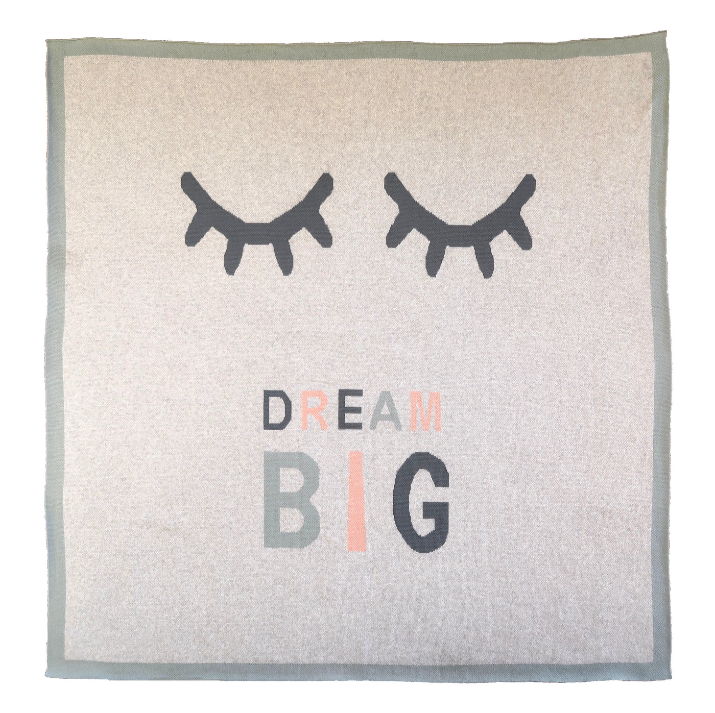 Organic cot blanket - Dream big