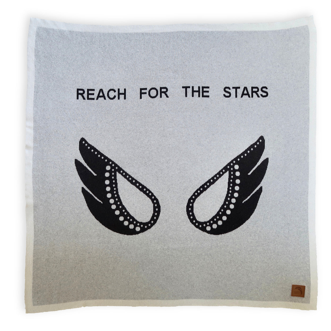 Organic cot blanket - Reach for the stars