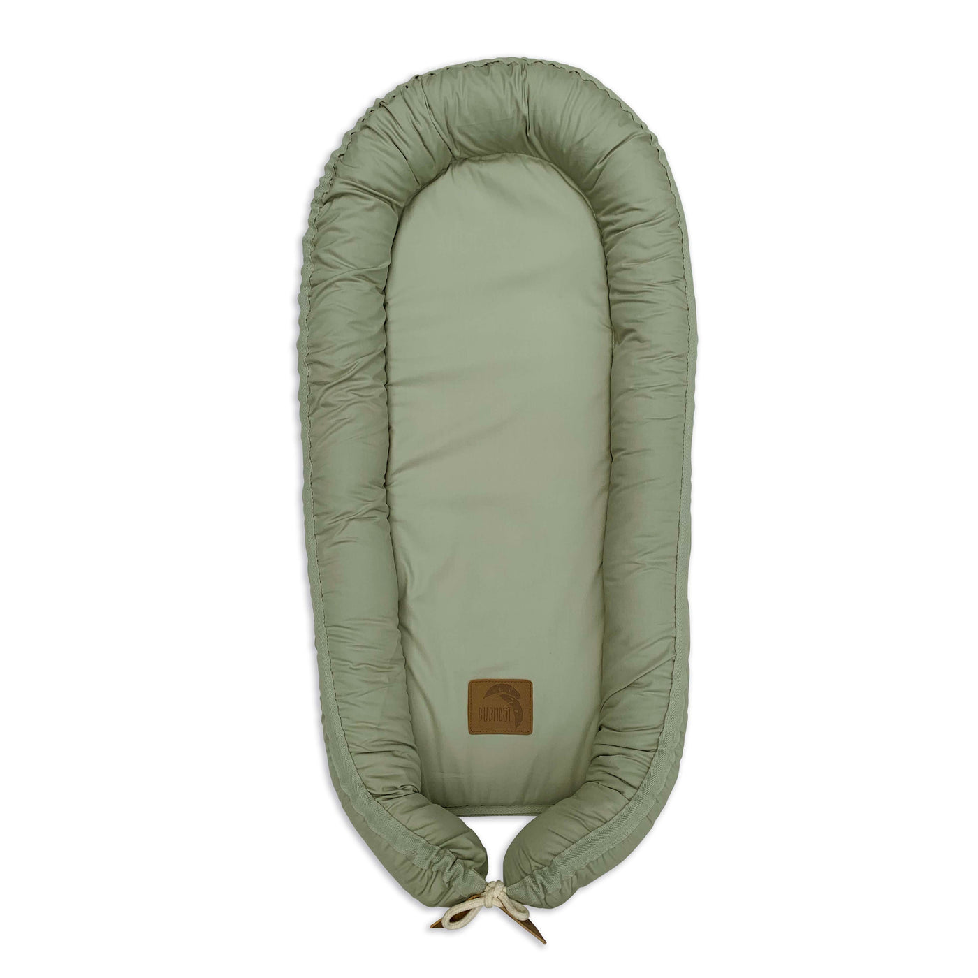Organic baby nest cover - Sage