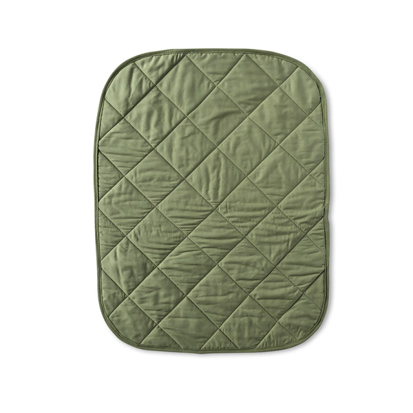 Organic twin liner - Olive
