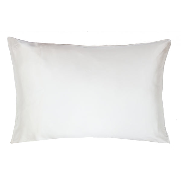 *PRE-ORDER* Super King Privé Silk Pillowcase Slip - Ivory - Nice Cream London