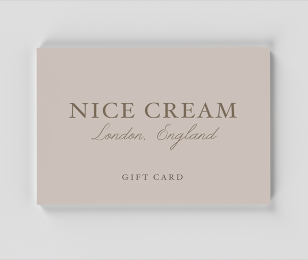 Gift Card - Nice Cream London