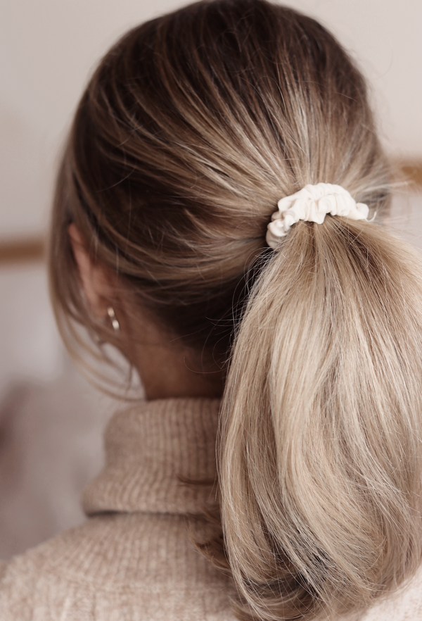 Classic Skinny Privé Pure Silk Hair Scrunchies - The Nice Cream Company