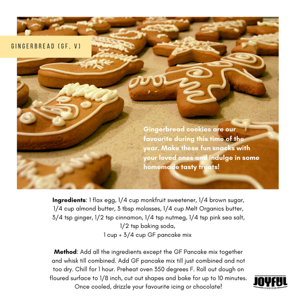 Our favourite gingerbread recipe!