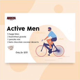 Pack B: Active men