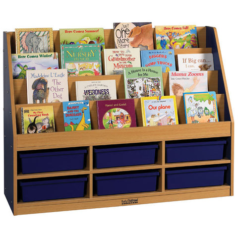 Colorful Essentials Storage Book Display