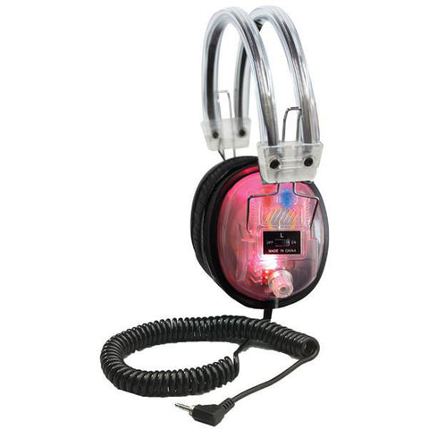 Hamilton Buhl Deluxe LED Light Up Headphones