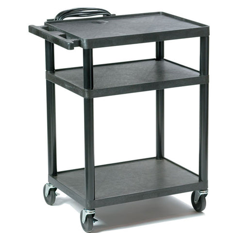 Plastic Audio Visual Cart for Schools